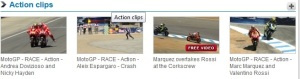 action clips