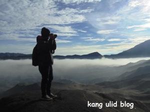 Sunrise at Bromo mountain