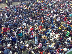 mudik menggunakan motor di Indonesia