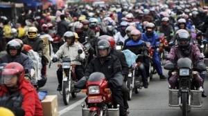mudik di China